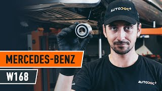 rear and front Motor mount change on MERCEDES-BENZ A-CLASS (W168) - video instructions