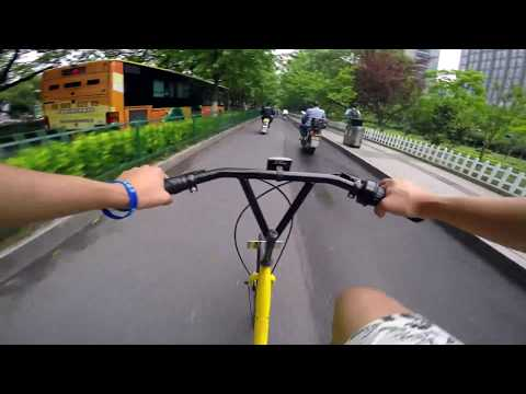 Ride in Hangzhou (Moganshan Road) 20170525