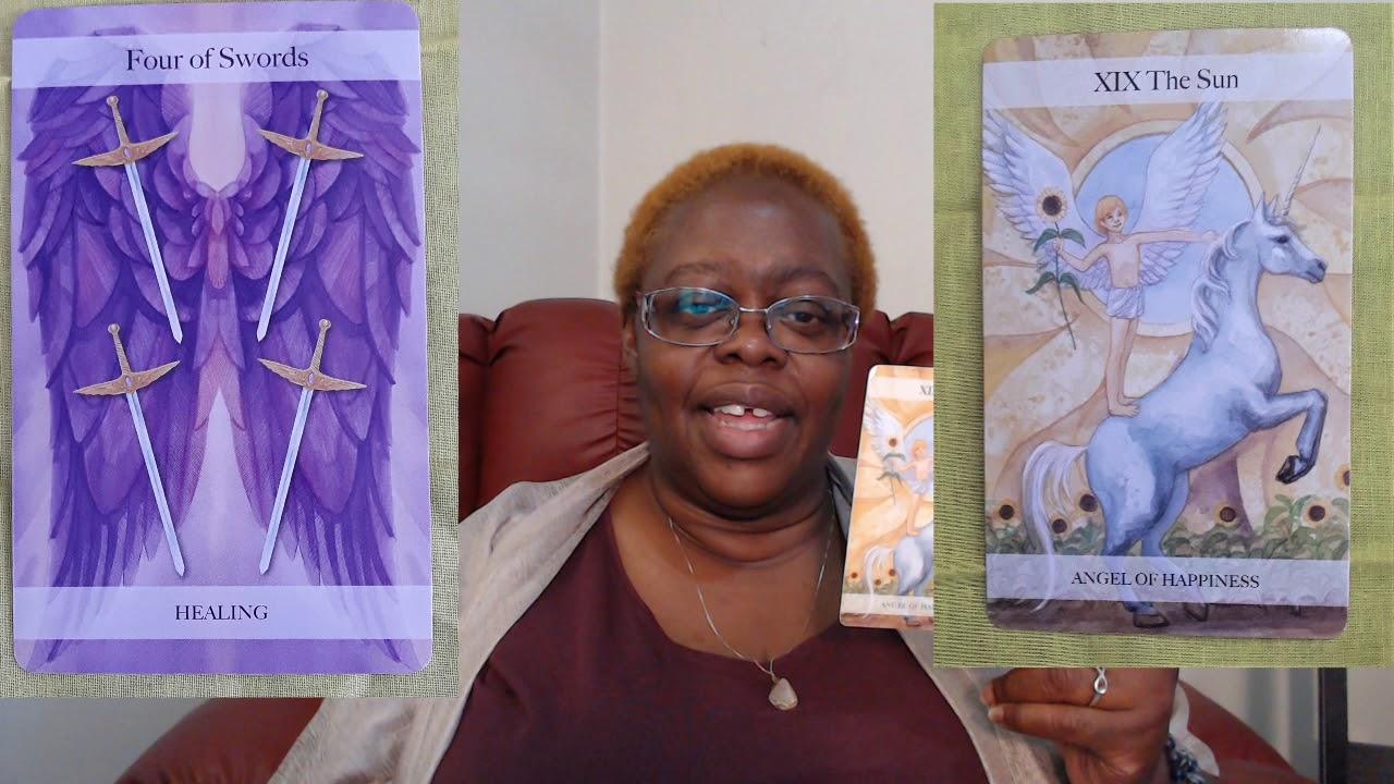 Four of Swords   Ms  Joyce Tarot