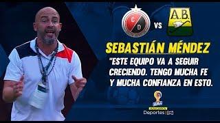 Cúcuta 3-2 Bucaramanga: Sebastián Méndez en rueda de prensa I Deportes RCN