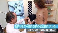 Brustvergrößerung bei junger Frau - Dr. Knabl in Wien