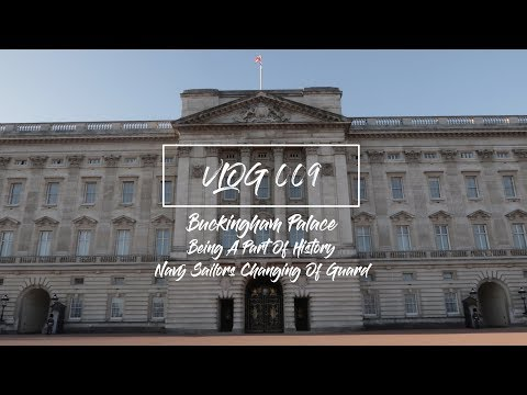 Vlog 009 - BEING A PART OF HISTORY (NAVY SAILORS CHANGING OF THE GUARD) !!!