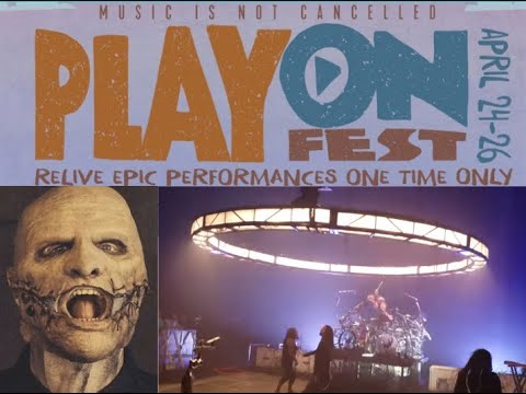 'PlayOn Fest' 2020 feat. live shows from Slipknot, Korn, Green Day and more!