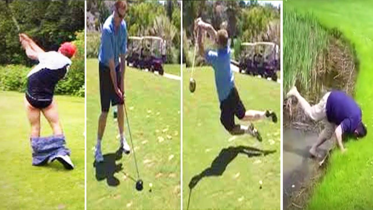 Funniest Outdoor Flip and Golf Fails