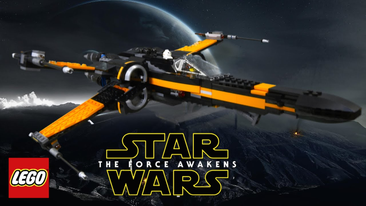 Lego star wars poe s x wing fighter review 75102 youtube - Lego Star Wars The Force Awakens Poe S X Wing Fighter From Lego Youtube