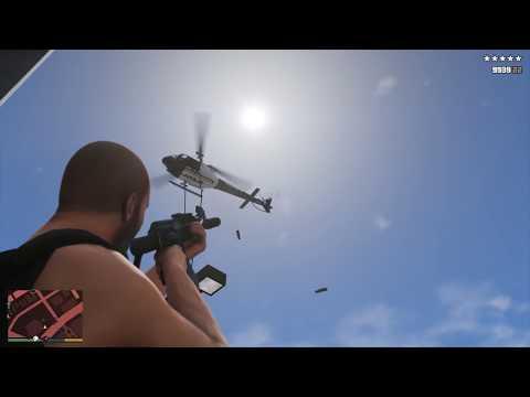 GTA V - Vespucci Beach Police Station Assault + Six Star Escape (RDE 3.1.1)