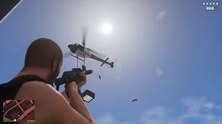 GTA V - Vespucci Beach Police Station Assault + Six Star Escape (RDE 3.1.1)