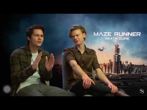Dylan O'Brien & Thomas B Sangster Funny Moments 2018 PART 1 || The Death Cure
