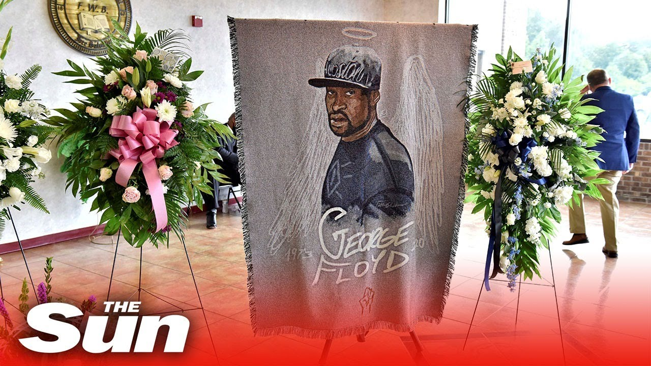 George Floyd's family hold memorial service in North Carolina