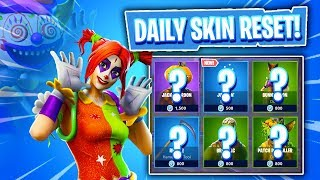 THEY ARE BACK! Fortnite Item Shop! Daily & Featured Items! (Skin Reset #264)