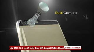 Life DAPS 12.7 cm (5 inch) Dual SIM Android Mobile Phone