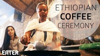 Coffee Is The Backbone Of Ethiopian Culture ; Even In Brooklyn