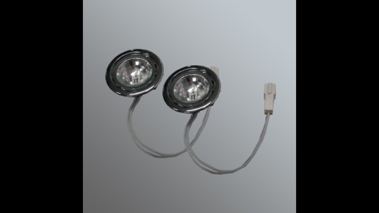 Canopy Light Fixtures / Kitchen Hood Lights