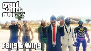 GTA 5 FAILS & WINS #7 (Best GTA V Funny Moments Compilation)
