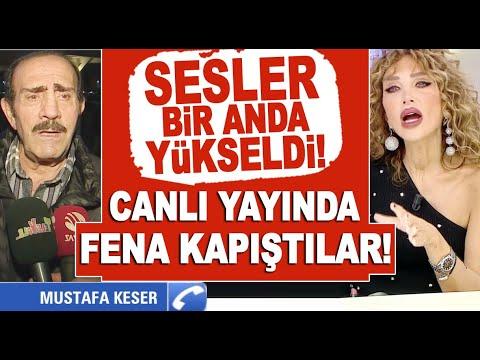 Programı biten Mustafa Keser ile Seren Serengil canlı yayında birbirine girdi! B
