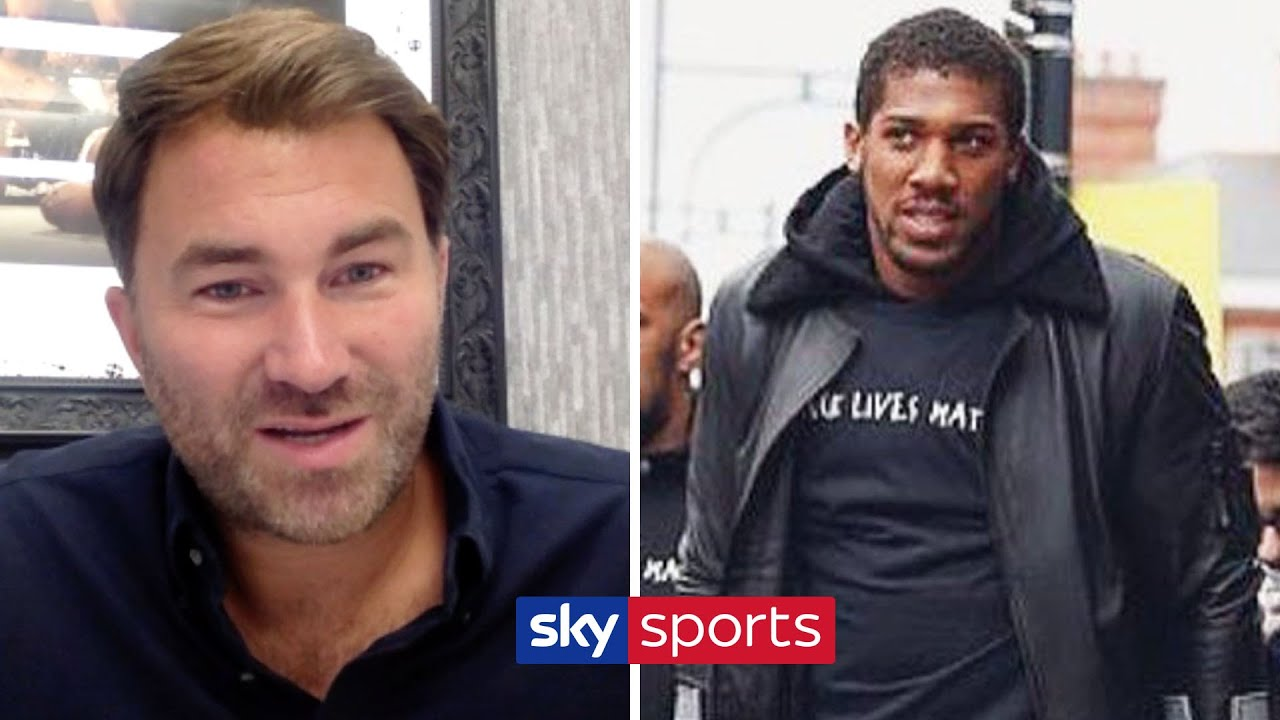 EXCLUSIVE! Eddie Hearn on Anthony Joshua's injury, Tyson Fury fight & Black Lives Matter