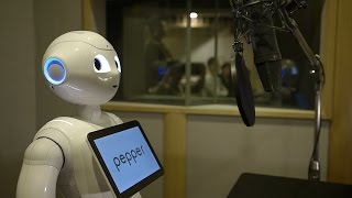 ディズニー映画「ベイマックス」 Pepper「ロボット声優」篇(60秒)