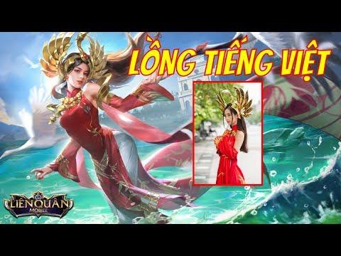 Cực Phê Với Giọng Nói Tiếng Việt Của Ilumia Thiên Nữ Áo Dài – Liên Quân Mobile   VietClub Gaming