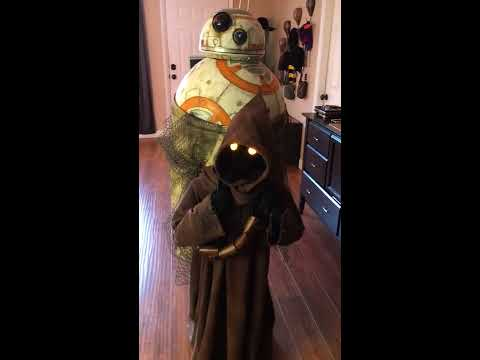 Star Wars Jawa Cosplay Motion Test
