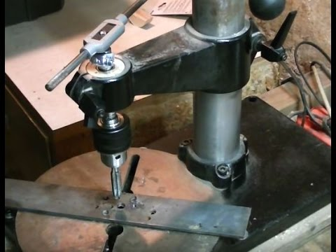 drill press tapping guide youtube rh youtube com