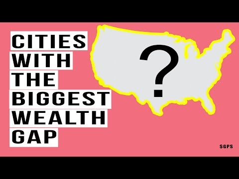 THESE Cities Have the Biggest Gap Between Rich and Everyone Else! MASSIVE Income Inequality!