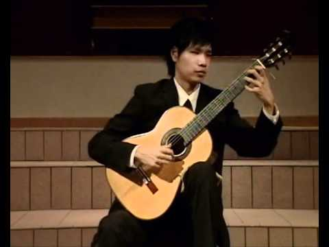 Beethoven: Sonata no.8 (Pathetique) II. Adagio Cantabile - Kenny Chan, guitar
