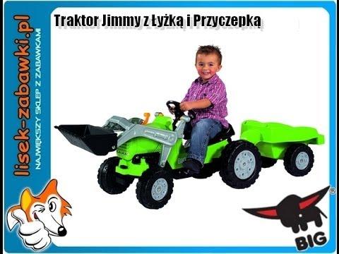 traktor big jimmy mit anhanger spielzeug f r kinder. Black Bedroom Furniture Sets. Home Design Ideas