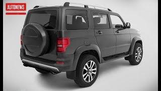 УАЗ Патриот 2020 турбомотор и светодиодная оптика