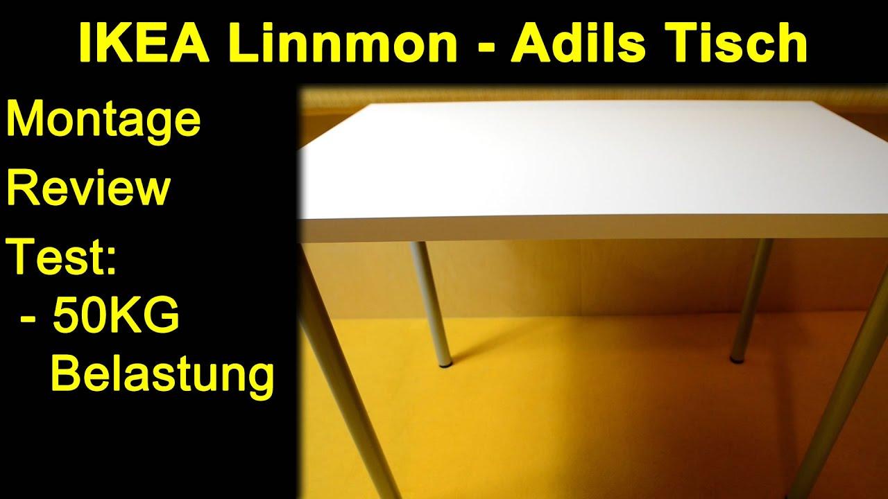 Ikea Tischfüsse ikea linnmon adils weiß grau tisch kombination 100x60