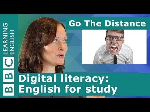 Digital Literacy – English For Study