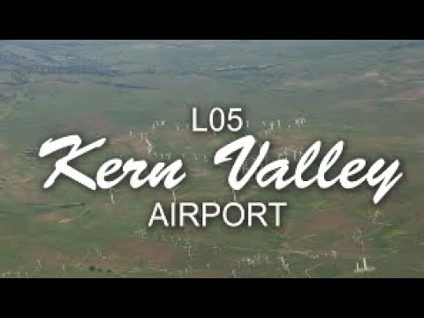 Flying with Tony Arbini into the Kern Valley Airport (L05)-Kernville, California
