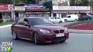 Harun Taştan BORDO M5 Drift Show 2015