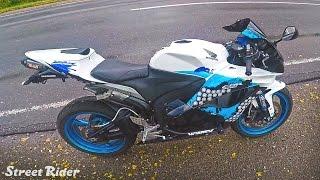 Тест-драйв мотоцикла Honda CBR600RR 2009