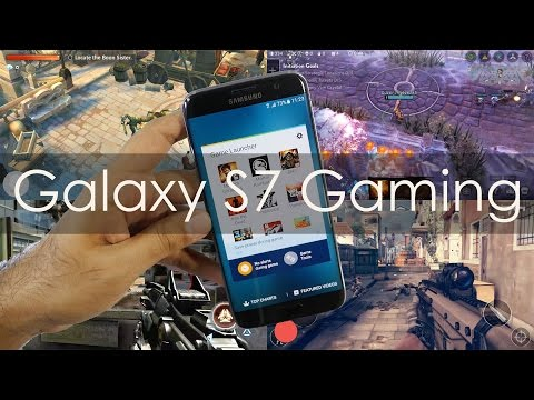 Samsung Galaxy S7 Edge Gaming Review &...