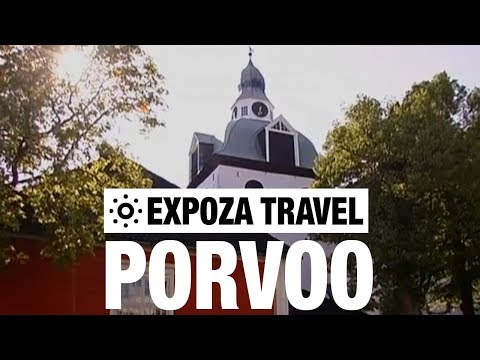 Porvoo (Finland) Vacation Travel Video Guide