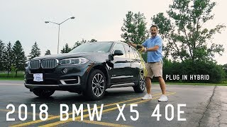 2018 BMW X5 40e Plug-in Hybrid  Full Review & Test Drive