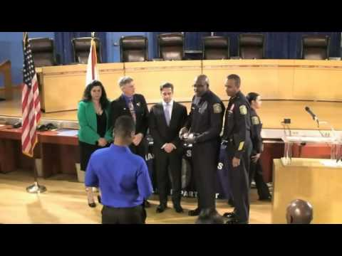 Miami-Dade Schools Police Swearing In Ceremony - October 2, 2015