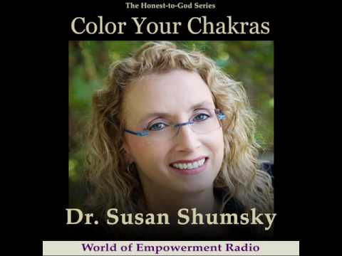 Color Your Chakras with Dr. Susan Shumsky