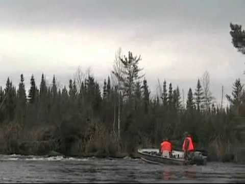 John Merritt 2010 Moose Hunt to Canadian Sub-Arctic Hunting - Part 2