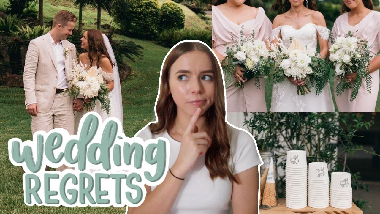 Download My 5 Wedding REGRETS + My 5 Best Investments!  | What went wrong...