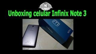 Unboxing celular Infinix note 3 final