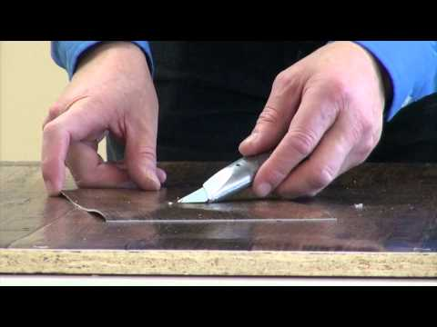 Linoleum Tear Repair
