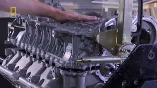 Bugatti Veyron W16 Engine Making -1001 HP[Nat Geo