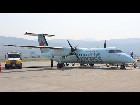 TRIP REPORT | Calgary-Kamloops | Air Canada Express | Bombardier Dash 8-300