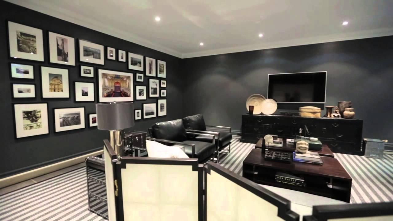 Interior Design Multifunctional Luxuriously Designed Basement