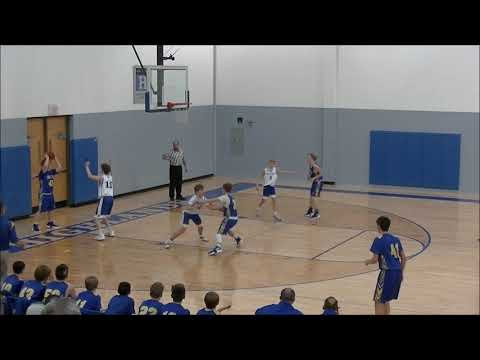 12/17/2018 HMS Bluebirds vs Summit View Academy Royals, 8th Grade Basketball