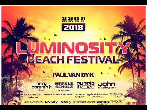 Luminosity Beach Festival 2018 - Line-up Trailer