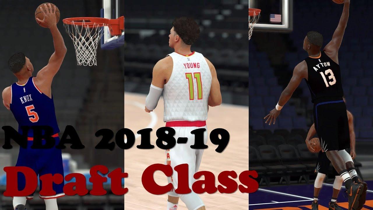 NBA 2K19 Roster 2K17 | 2018 & 2019 Draft Class Updated 6|22|2018