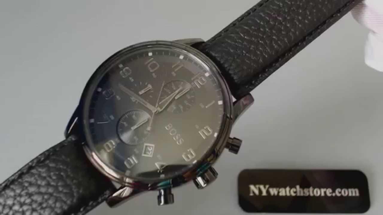 8f8f4eda7 Men's Hugo Boss Blackout Chronograph Watch 1512567