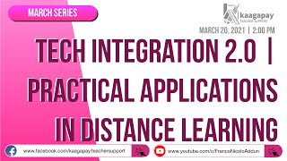 Technology Integration 2.0 | Practical Application in Distance Learning